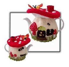Fairy Mushroom Tea Cosy                                                                                                                                                                                 Mehr