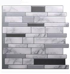 20 Kitchen Project Ideas Peel And Stick Tile Stick On Tiles Tile Backsplash