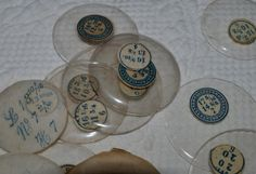Vintage pocketwatch crystals by FragmentsEtc on Etsy, $10.00
