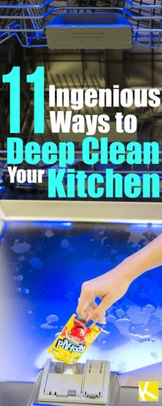 11 Easy & Ingenious Ways to Deep Clean Your Kitchen