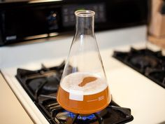 By creating a small, simplified batch of beer known as a starter, we can turn a little bit of yeast into a lot of yeast. A single package of liquid yeast is really not enough when you're aiming to make a higher alcohol beer. Using an insufficient number of cells can cause off flavors and even infection.