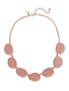 Shop Glitter Collar Necklace . Find your perfect size online at the best price at New York & Company.