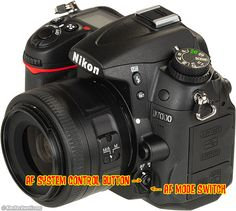 Ken Rockwell great information on getting sharp in focus pictures for Nikon d7000
