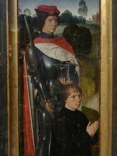 1480 - 'Adriaan Reins and St. Adrian' (Hans Memling), Memlingmuseum, Sint-Janshospitaal, Brugge, province of West Flanders, Belgium | par roelipilami