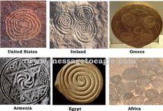 Ancient spirals worldwide