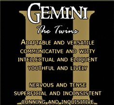 Discover and share Gemini Zodiac Sign Quotes. Explore our collection of motivational and famous quotes by authors you know and love. Gemini Love, Gemini Sign, Gemini Quotes, Gemini Woman, Zodiac Signs Gemini, My Zodiac Sign, Aquarius, Gemini Symbol, Gemini Gemini