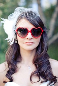 cute and silly photo opp! could totes see lisa sporting these fabby shades on the big day