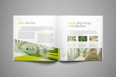 Business Square Brochure by FathurFateh on @creativemarket
