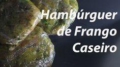 24. Hambúrguer de Frango e Espinafres