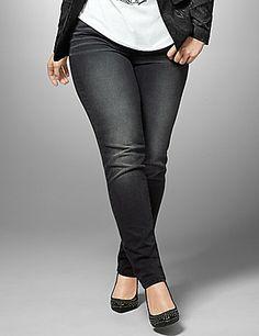 fe0f88fd5f0 Genius Fit black skinny jean Flattering Outfits
