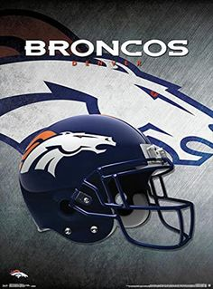 Helmet NFL Denver Broncos  by Jemmy Grey