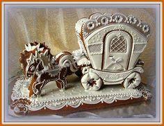 Fairytale Coach Gingerbread