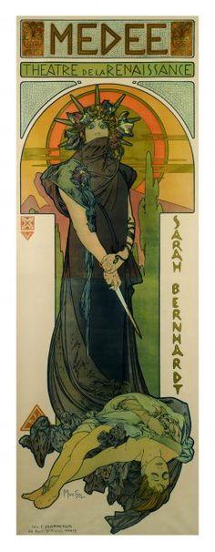 Milano, a Palazzo Reale i manifesti di Mucha: la star dell'Art Nouveau