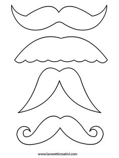 bigotes - From Parts Unknown Diy And Crafts, Crafts For Kids, Arts And Crafts, Paper Crafts, Iris Folding, Dad Day, Ideas Para Fiestas, Fathers Day Crafts, Mother And Father