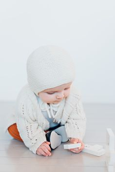 Merino wool, hand knit baby bonnet by a mother in Ukraine, Founded in Ålesund, Norway Alesund, Baby Knitting, Ukraine, Norway, Merino Wool, Baby Knits, Baby Afghans