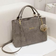 Saffiano Desiger Leather Handbag