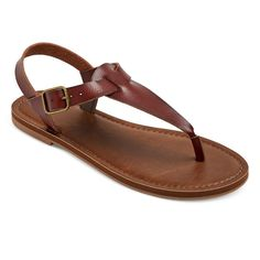 Women's Lady Thong Sandals - Brown 6.5