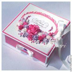 Купить Коробочка для денежного подарка малиновая - коробочка для денег, подарок на свадьбу, на свадьбу, свадьба, для молодоженов