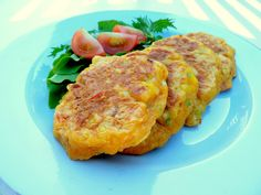 Sweet Corn Feta Fritters a delicious combination of flavours and colours. Use freshly cooked sweetcorn. Perfect with your favourite dipping sauce or salad.