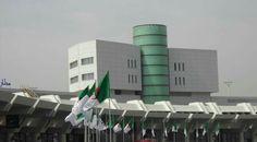Aéroport international d'Alger avec nos produits de façade ventilé BURMETT.GR ORAN Algérie