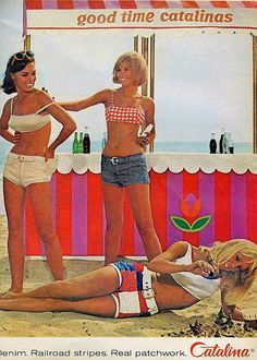 Catalina 1960s #vintage #bathing suit #ad