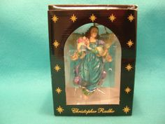 Christopher Radko Christmas Ornament Angel of Peace with Box Dated 2000   eBay