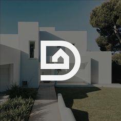 home logo Logoramia - Logo Inspirations on Instagr - Logo Inspiration, Architecture Background, Architecture Design, Architecture Panel, Drawing Architecture, Architecture Portfolio, Arquitectura Logo, Inmobiliaria Ideas, Property Logo