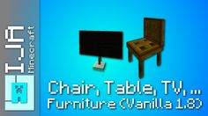 Minecraft - Furniture with only one command block