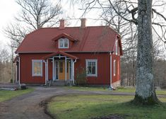Cosy House, Good Old Times, Small Buildings, The Doors, Compact Living, Scandinavian Home, Abandoned Houses, Shed, Villa