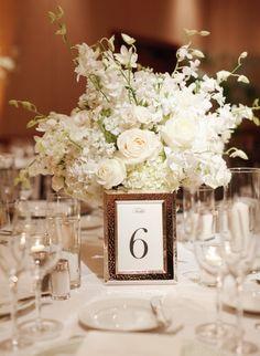 wedding centerpiece idea; Marisa Holmes Photography