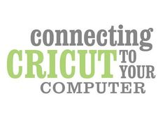 Connecting Cricut to your computer (PC/Mac)