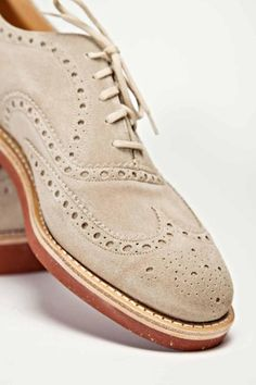 Church's and Brunello Cucinelli suede brogues…