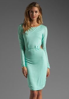 Pencey Standard Open Back Dress in Green