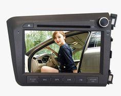 Car DVD Navigation for Honda Civic 2012 Right Hand Drive  $335.82