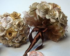 Paper Roses Wedding Package  made from by SweetPeaPaperFlowers, $125.00