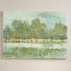 Surface On The Lake By Liz Jardine