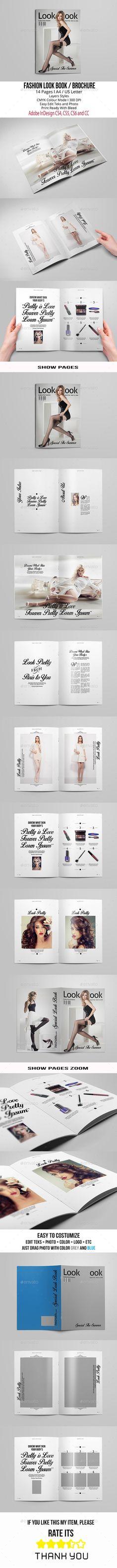 Travellers Portfolio Print templates, Brochure template and Brochures - fashion design brochure template