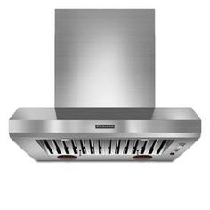 Kitchenaid Ducted Wall-Mounted Range Hood (Stainless) (Common: 36-In;