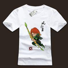 DOTA 2 Windrunner Hero teeshirt   Wishining