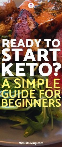 Looking to start the ketogenic diet? This simple guide for beginners will help you if you are starting keto and make sure you stick with it.