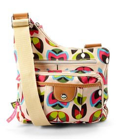 Look at this Beige Madelaine Crossbody on #zulily today!