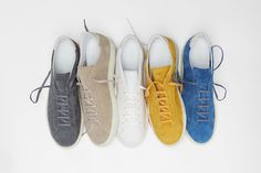 Swedish footwear brand CQP has unveiled a brand new silhouette they have named the RACQUET, a deconstructed version of the classic tennis shoe.