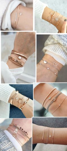 Ideas Jewerly Accessories Bracelets Jewels For 2019 Cute Jewelry, Gold Jewelry, Jewelry Accessories, Fashion Accessories, Jewelry Necklaces, Jewelry Design, Fashion Jewelry, Women Jewelry, Fancy Jewellery