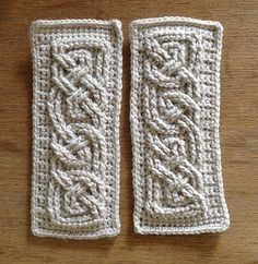 Book of Kells ... This is an awesome pattern for making cuffs!!...free pattern