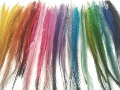 Emu feathers are my new fav.  Can't wait to dye my first batch.  Fingers crossed!