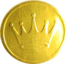 Hallmark Gold Crown Envelope Seals, Greeting Card Items, Hallmark Card Items #Hallmark #AnyOccasion
