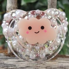 Ddlg adult size pink cloud pacifier dummy binky age play abdl