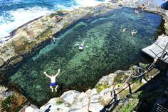 Newcastle - Swimming in the Bogey Hole is one of the favourite things to do in Newcastle for locals