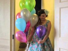 Colour-Pop accessories for a vintage style wedding! - YouTube