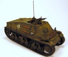 Artilleriebeobachtungswagen auf Hotchkiss H39